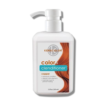 Keracolor Color Clenditioner Colour Copper 355ml-Keracolor-Beautopia Hair & Beauty