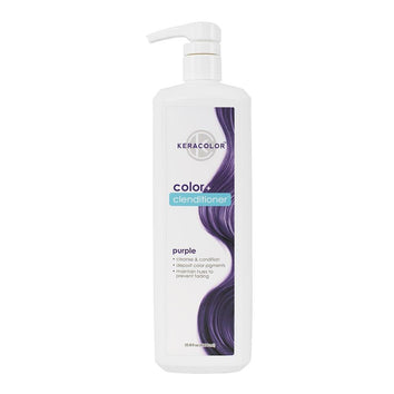 Keracolor Color Clenditioner Colour Purple 1 Litre-Keracolor-Beautopia Hair & Beauty