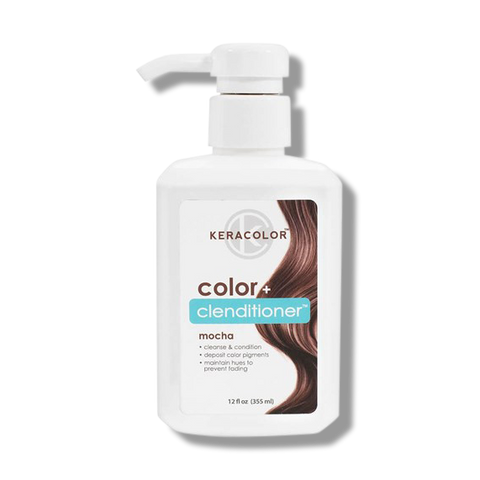 Keracolor Color Clenditioner Colour Mocha 355ml - Beautopia Hair & Beauty