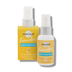 Keracolor Keracolors Gold Toning Drops 60ml-Keracolor-Beautopia Hair & Beauty