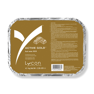 LYCON Hot Wax XXX Active Gold - 1kg-Lycon-Beautopia Hair & Beauty