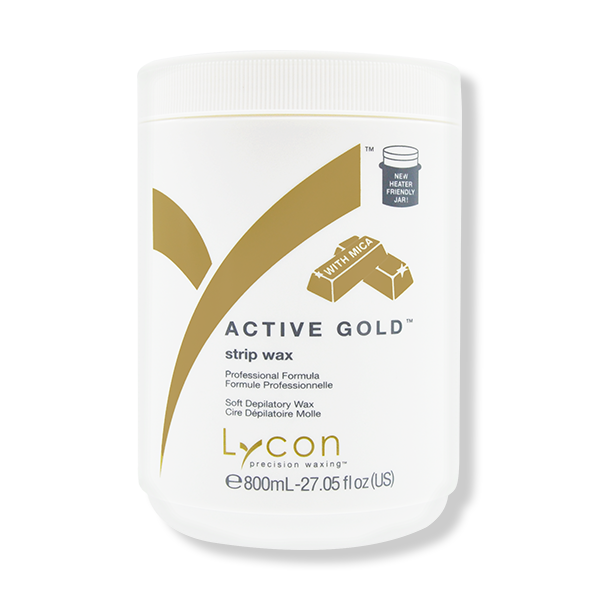LYCON Strip Wax Active Gold - 800ml-Lycon-Beautopia Hair & Beauty