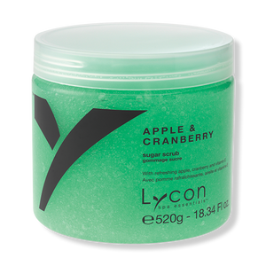 LYCON Sugar Scrub Apple & Cranberry - 520g-Lycon-Beautopia Hair & Beauty