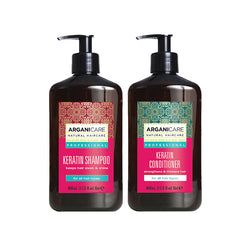 Arganicare Keratin Shampoo & Conditioner Duo 400ml