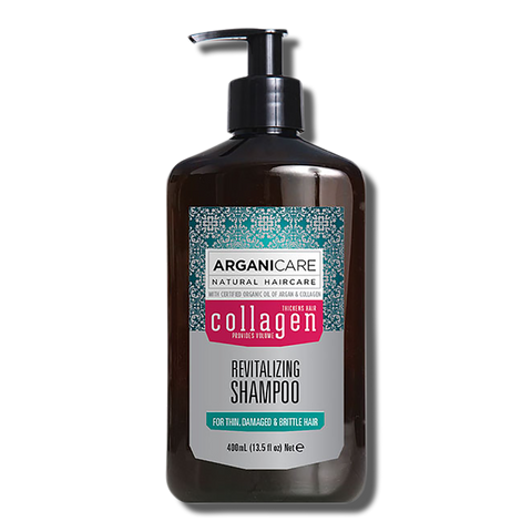 Arganicare Collagen Revitalizing Shampoo - 400ml-Arganicare-Beautopia Hair & Beauty