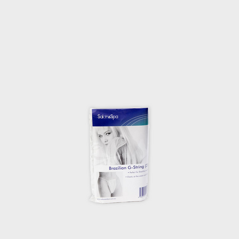 Salon & Spa G-String White - 25pk