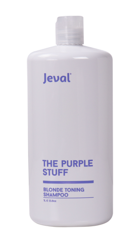 Jeval The Purple Stuff Blonde Shampoo 1 Litre