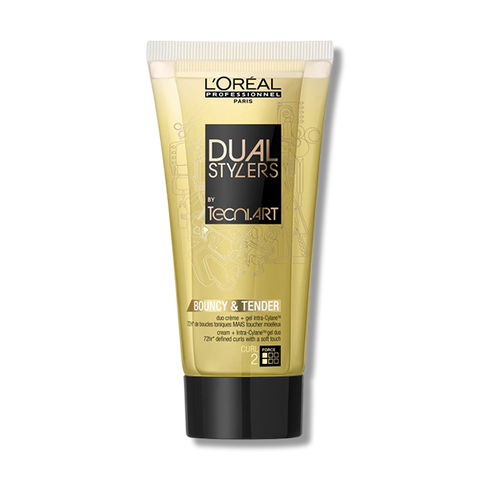 Loreal Dual Stylers Bouncy & Tender - 150ml-L'oreal Professionnel-Beautopia Hair & Beauty