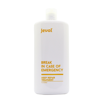 Jeval Break In Case Of An Emergency Deep Repair Treatment 1 Litre - Beautopia Hair & Beauty