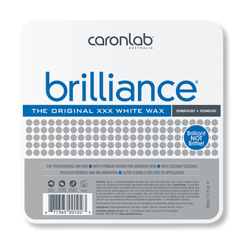 Caronlab Hard Wax Brilliance - 500g-Caronlab-Beautopia Hair & Beauty