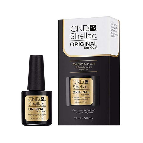 CND Shellac Gel Polish Original Top Coat 15ml