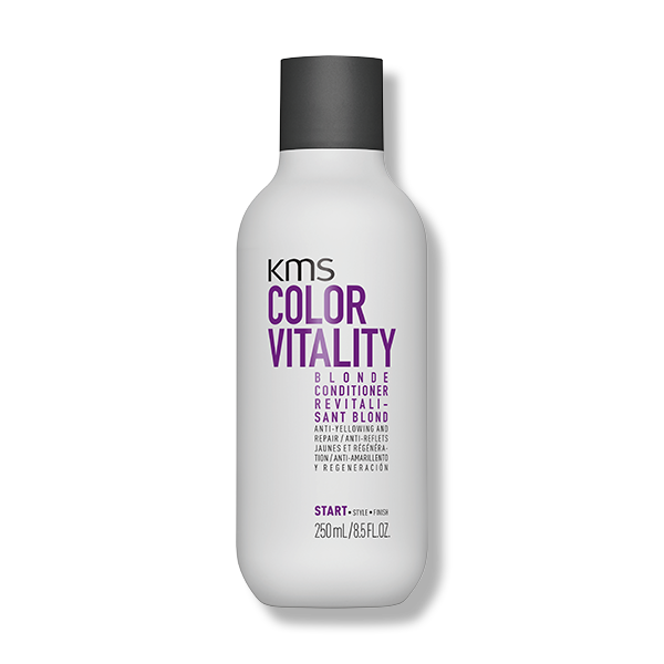 KMS Color Vitality Blonde Conditioner 250ml - Beautopia Hair & Beauty