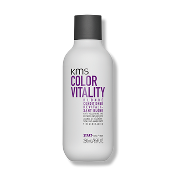 KMS Color Vitality Blonde Conditioner 250ml-KMS-Beautopia Hair & Beauty