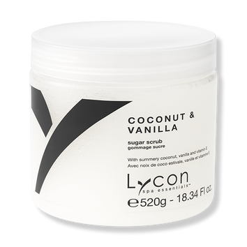 LYCON Sugar Scrub - Coconut & Vanilla 520g-Lycon-Beautopia Hair & Beauty