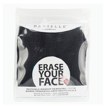 Danielle Creations Erase your Face Single Makeup Removing Cloth Black
