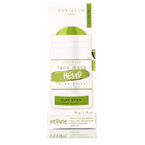Danielle Creations Face Mask Hemp Clay Stick 50g