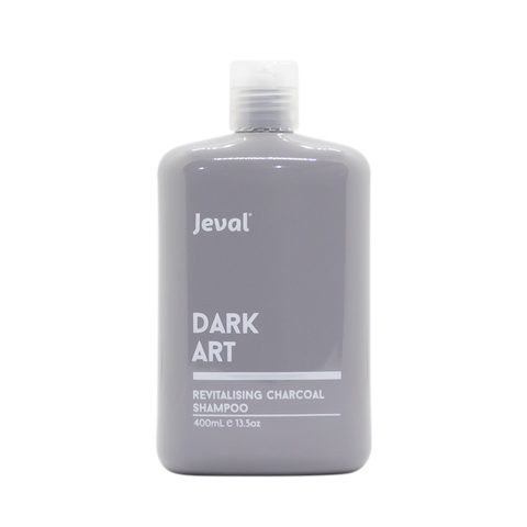 Jeval Dark Art Revitalising Charcoal Shampoo 400ml