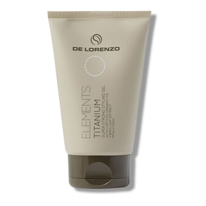 De Lorenzo Elements Titanium Super Strong Styling Gel - 100g-De Lorenzo-Beautopia Hair & Beauty