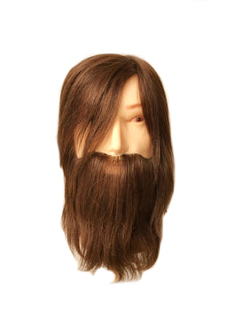 George Mannequin Head with Beard