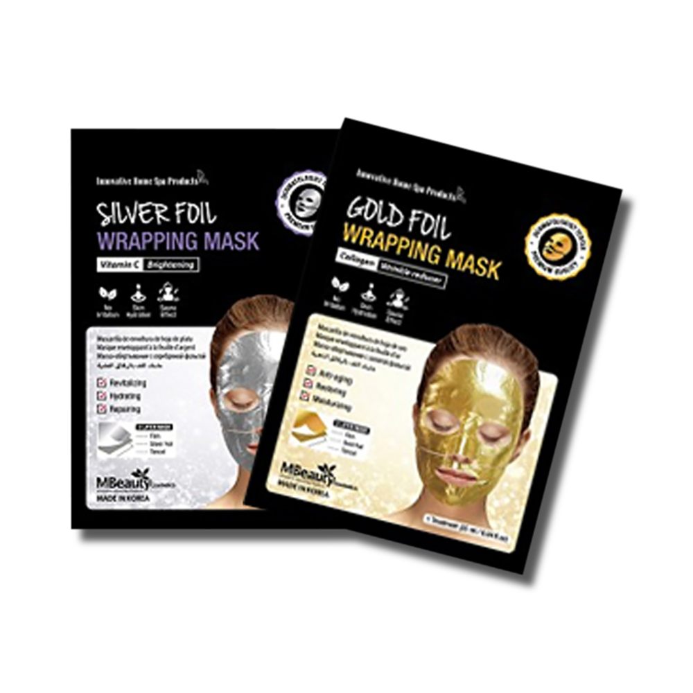 MBeauty Foil Wrapping Mask - 2 pack-MBeauty Cosmetics-Beautopia Hair & Beauty