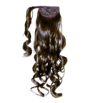 Grace Synthetic Wavy Ponytail Hair Extension - 22 inch