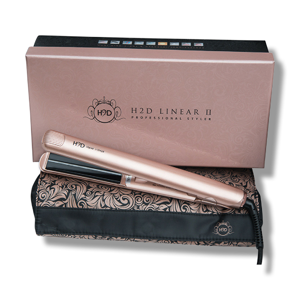 H2D Linear 11 Rose Gold Hair Straightener - Beautopia Hair & Beauty