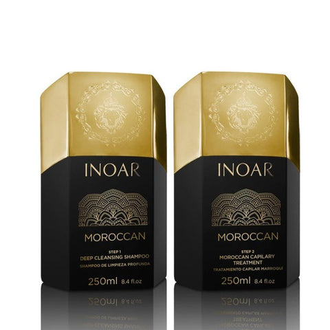Inoar Moroccan Keratin Smoothing Kit 250ml