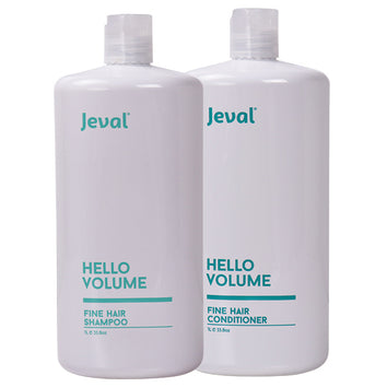 Jeval Hello Volume Fine Hair Shampoo & Conditioner Duo 1 Litre