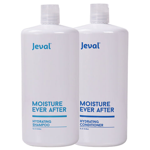 Jeval Moisture Ever After Hydrating Shampoo & Conditioner Duo 1 Litre