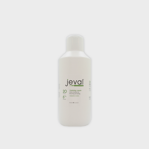 Jeval Oxidizing Cream 20 vol (6%) 1L - Beautopia Hair & Beauty