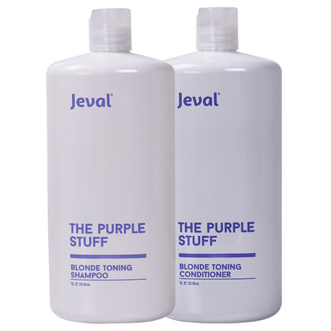 Jeval The Purple Stuff Blonde Shampoo & Conditioner Duo 1 Litre