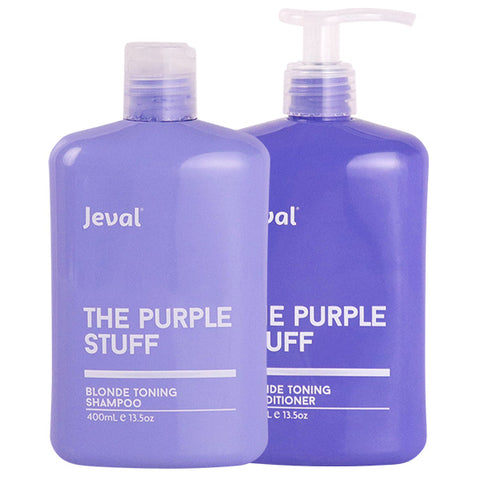 Jeval The Purple Stuff Blonde Shampoo & Conditioner Duo 400ML