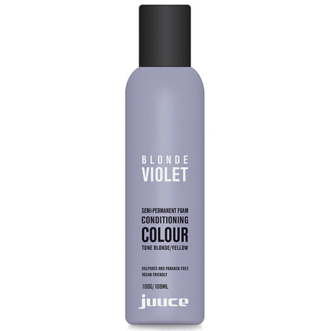 Juuce Toning Foam Blonde Violet 100g - Beautopia Hair & Beauty