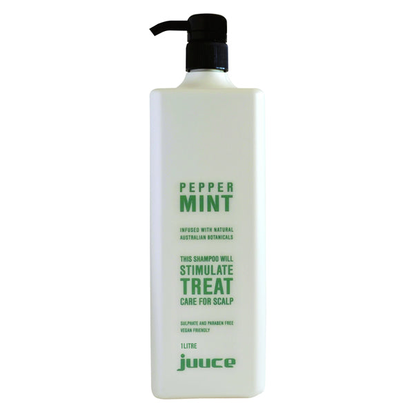 Juuce Peppermint Shampoo 1 Litre - Beautopia Hair & Beauty