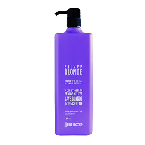 Juuce Silver Blonde Conditioner 1 Litre - Beautopia Hair & Beauty