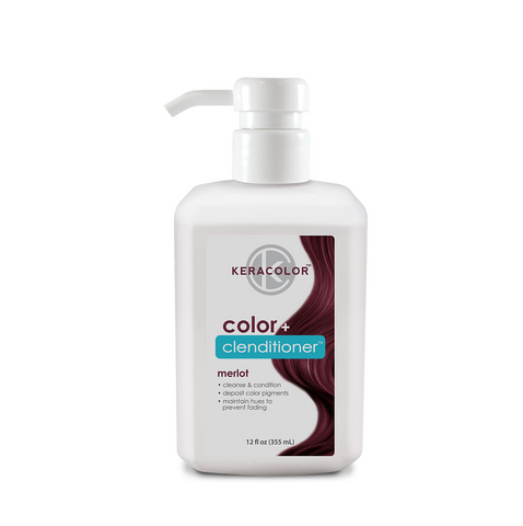 Keracolor Color Clenditioner Colour Merlot 355ml - Beautopia Hair & Beauty