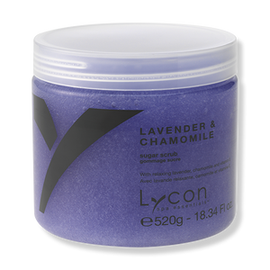 LYCON Sugar Scrub Lavender & Chamomile 520g - Beautopia Hair & Beauty