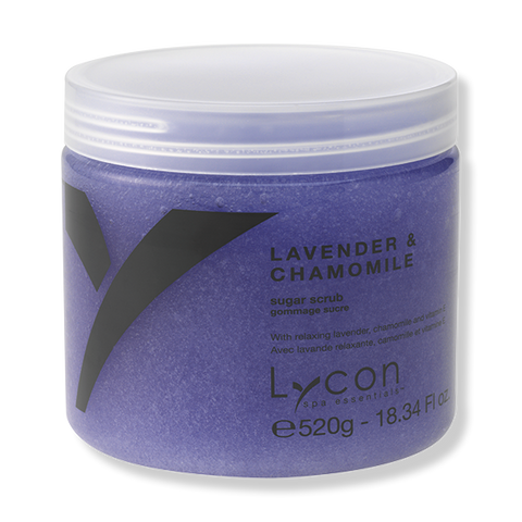 LYCON Sugar Scrub - Lavender & Chamomile 520g-Lycon-Beautopia Hair & Beauty