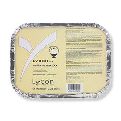 LYCON Hot Wax XXX Lycoflex Vanilla - 1kg-Lycon-Beautopia Hair & Beauty