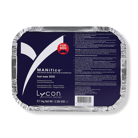 LYCON Hot Wax XXX MANifico - 1kg-Lycon-Beautopia Hair & Beauty