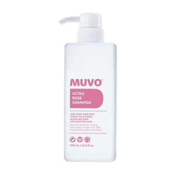 MUVO Ultra Rose Shampoo 500ml - Beautopia Hair & Beauty