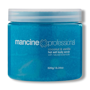 Mancine Hot Salt Scrub Coconut & Vanilla - 520g