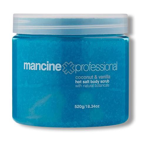 Mancine Hot Salt Scrub Coconut & Vanilla - 520g-Mancine Professional-Beautopia Hair & Beauty
