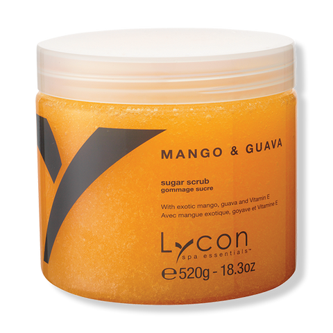 LYCON Sugar Scrub - Mango & Guava 520g-Lycon-Beautopia Hair & Beauty