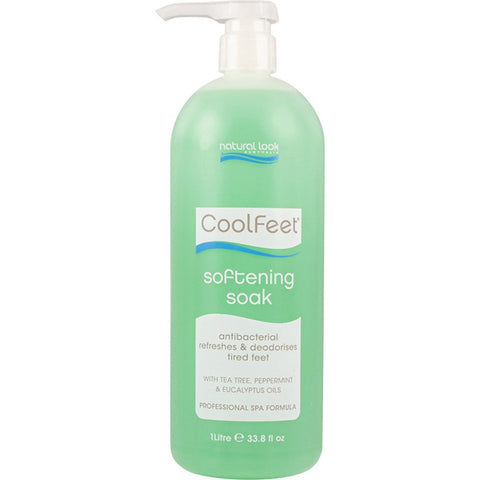 Natural Look Cool Feet Softening Soak 1L