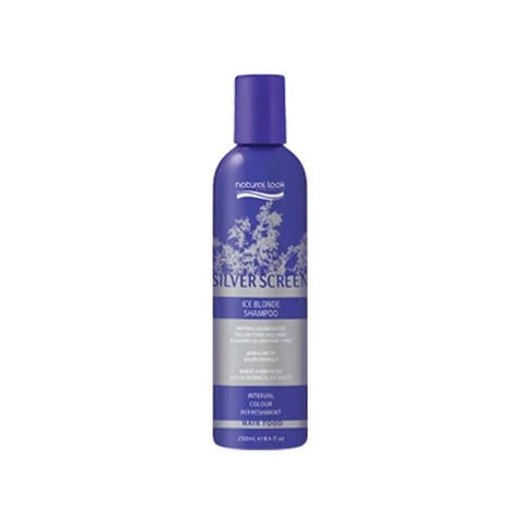 Natural Look Movie Tones Silver Screen Ice Blonde Shampoo 250ml