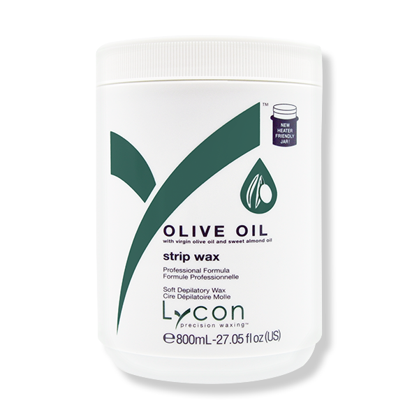 LYCON Strip Wax Olive Oil - 800ml-Lycon-Beautopia Hair & Beauty
