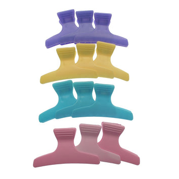 Santorini Butterfly Clips Assorted 12pk