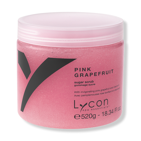 LYCON Sugar Scrub - Pink Grapefruit 520g-Lycon-Beautopia Hair & Beauty