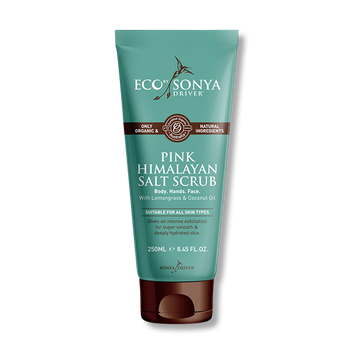Eco by Sonya Driver Organic Pink Himalayan Salt Scrub 250gm-Eco Tan-Beautopia Hair & Beauty